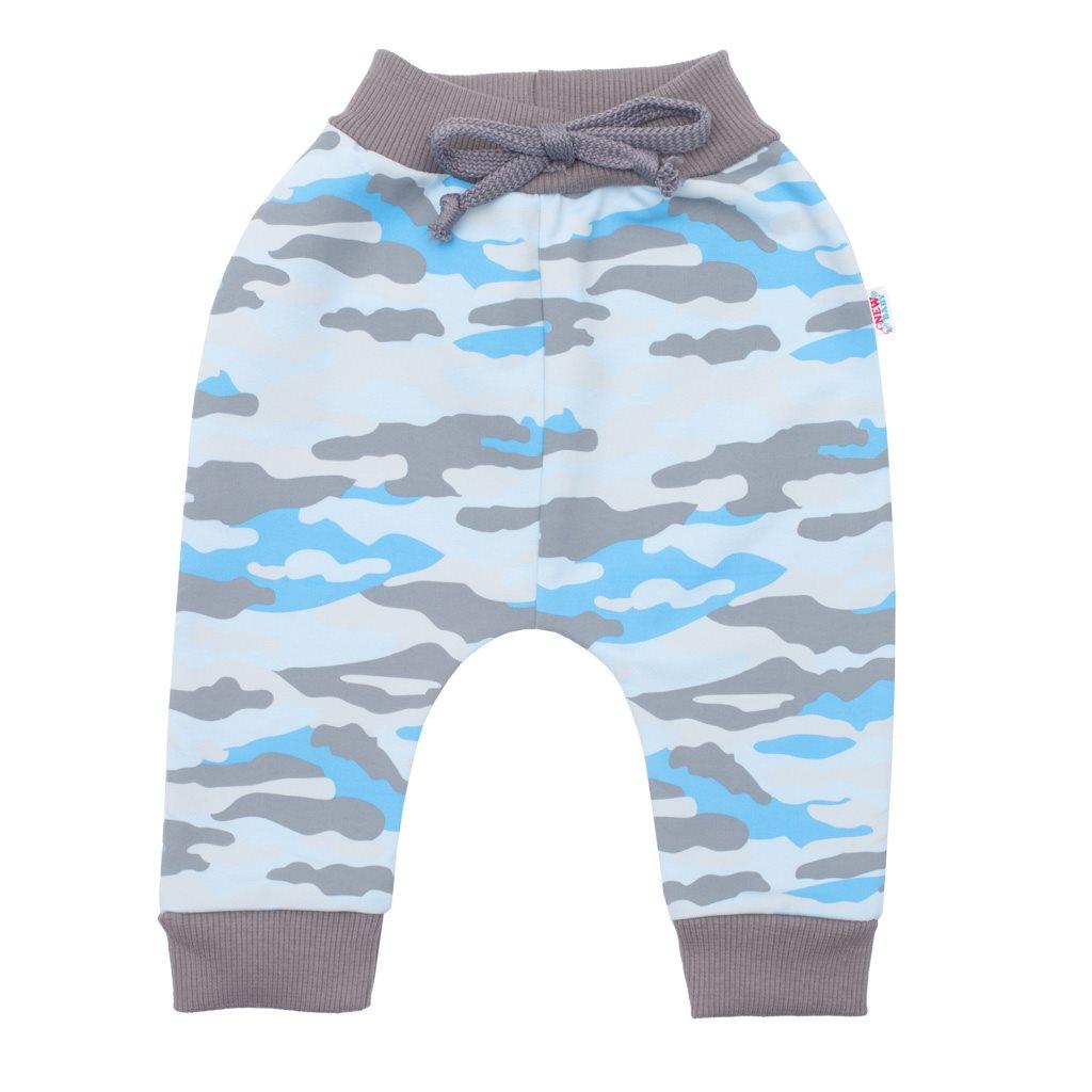 Kojenecké bavlněné tepláčky New Baby With Love modré, vel. 62 (3-6m)