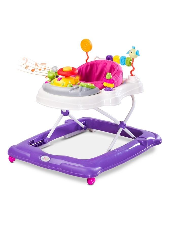 Dětské chodítko Toyz Stepp purple (poškozený obal)