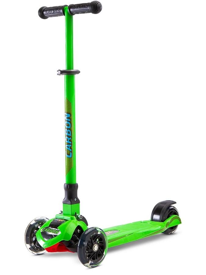 Dětská koloběžka Toyz Carbon green (poškozený obal)