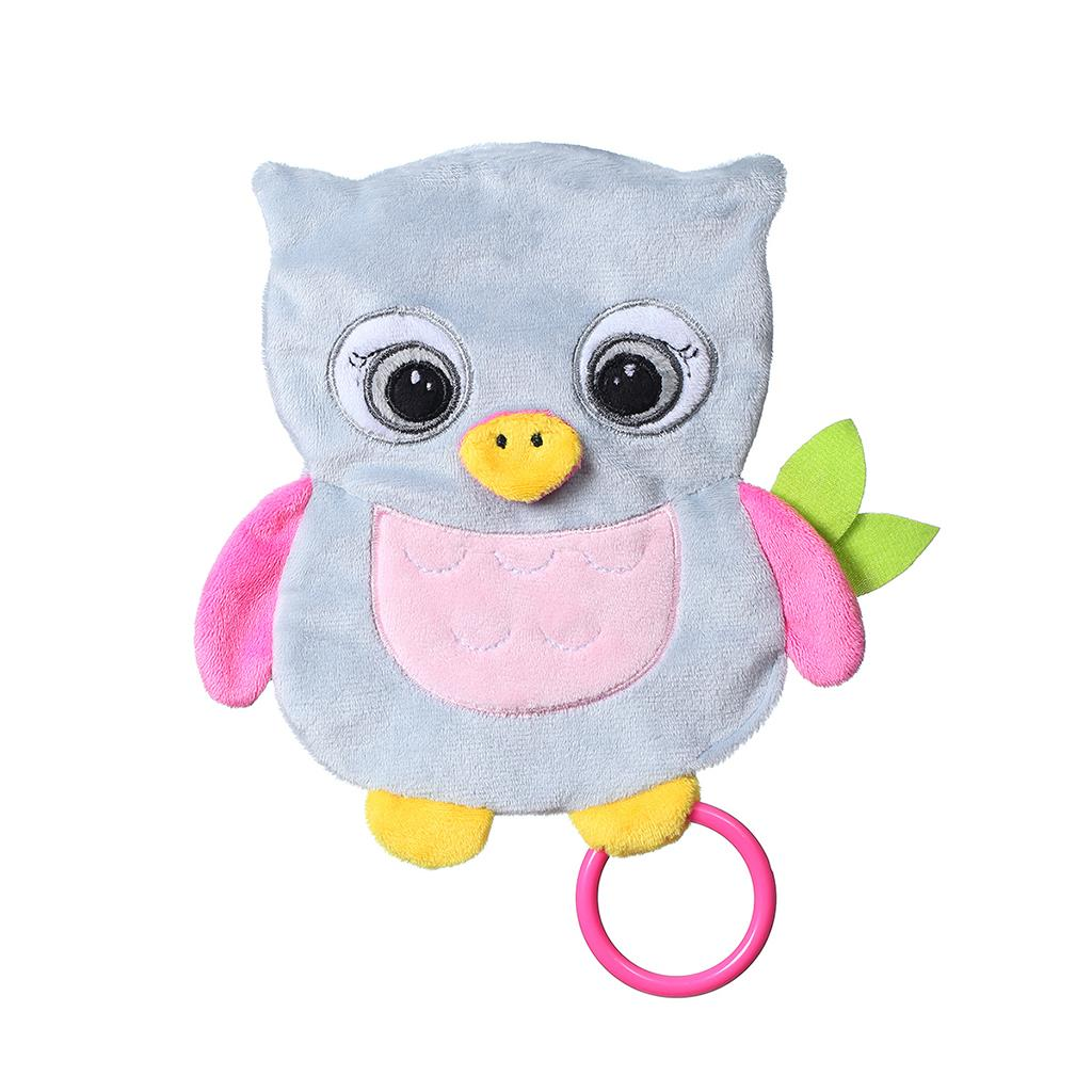 Plyšová hračka Baby Ono Flat Owl Celeste