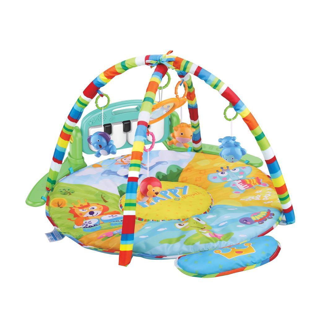 Hrací deka s piánkem Bayo Safari (poškozený obal)