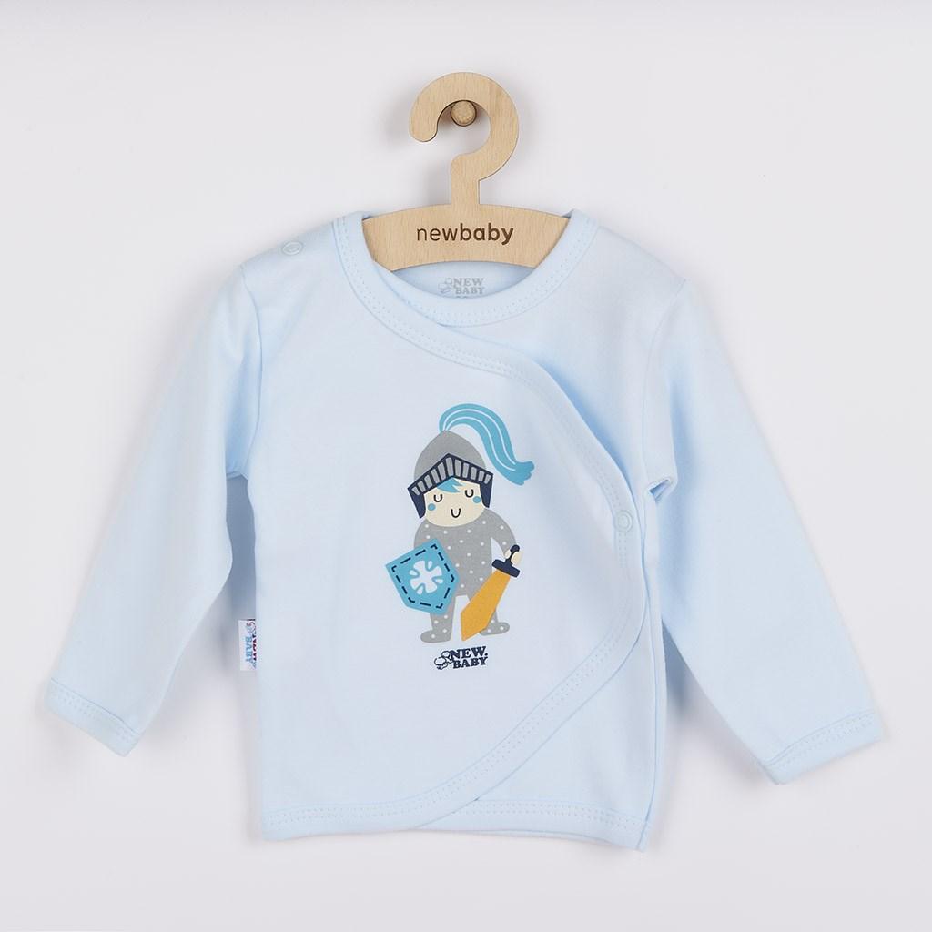 Kojenecká bavlněná košilka New Baby Knight, vel. 56 (0-3m)
