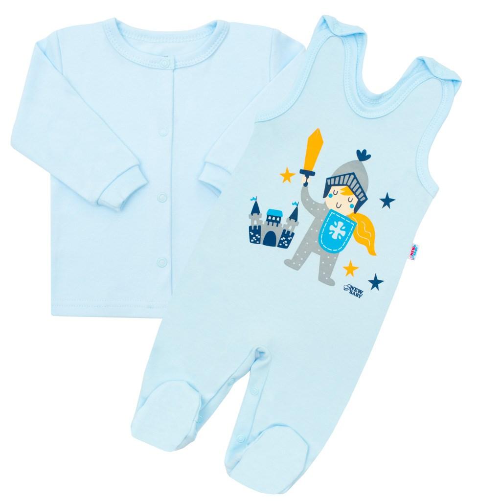 2-dílná kojenecká bavlněná soupravička New Baby Knight vel. 56 (0-3m)