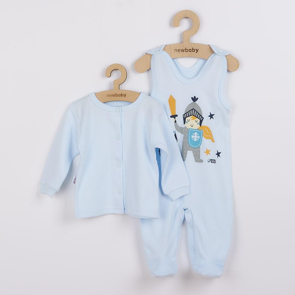 2-dílná kojenecká bavlněná soupravička New Baby Knight vel. 68 (4-6m)