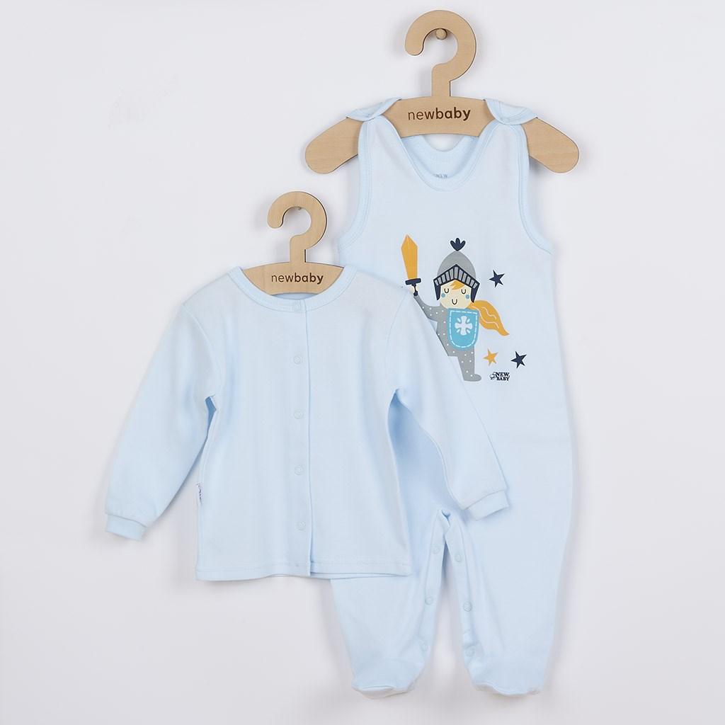 2-dílná kojenecká bavlněná soupravička New Baby Knight vel. 80 (9-12m)