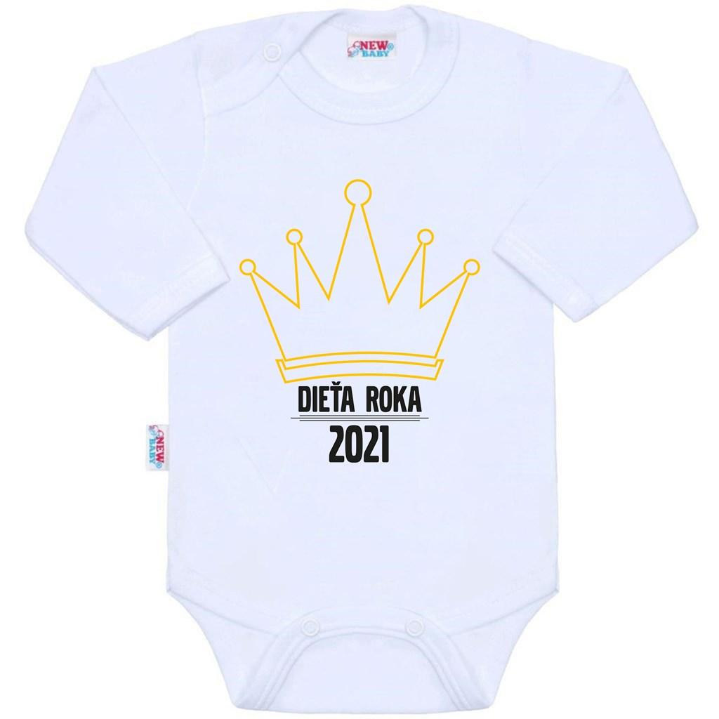 Body s potiskem New Baby Dieťa roka 2021, 56 (0-3m)