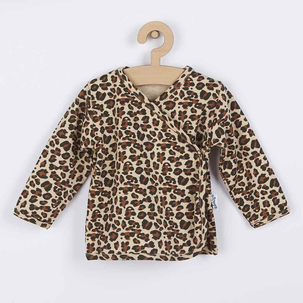 Kojenecká bavlněná košilka Nicol Mia, 56 (0-3m)