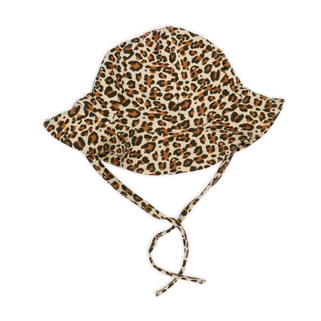 Kojenecká bavlněná čepička-klobouček Nicol Mia, Velikost: 80 (9-12m)