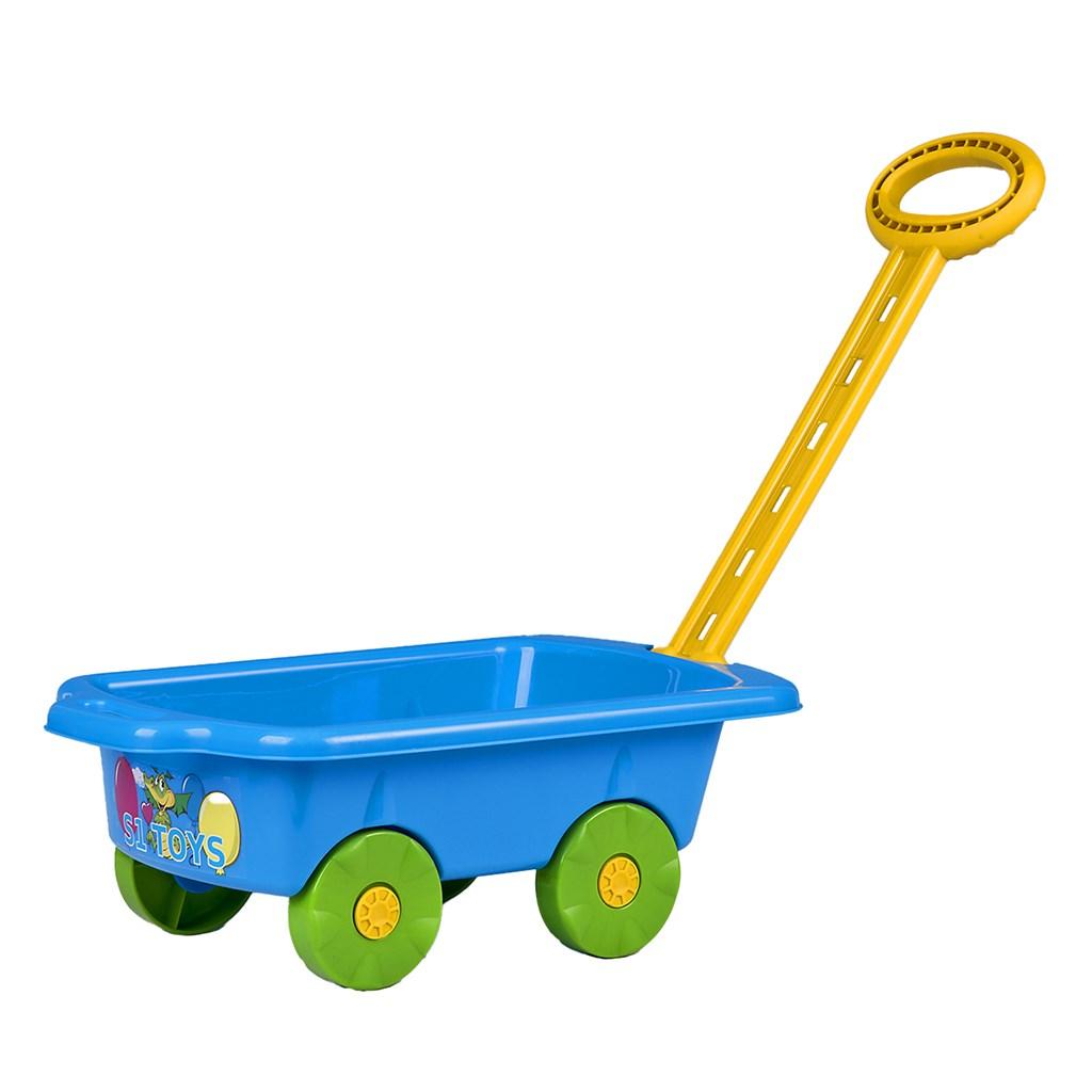 Dětský vozík Vlečka BAYO 45 cm modrý
