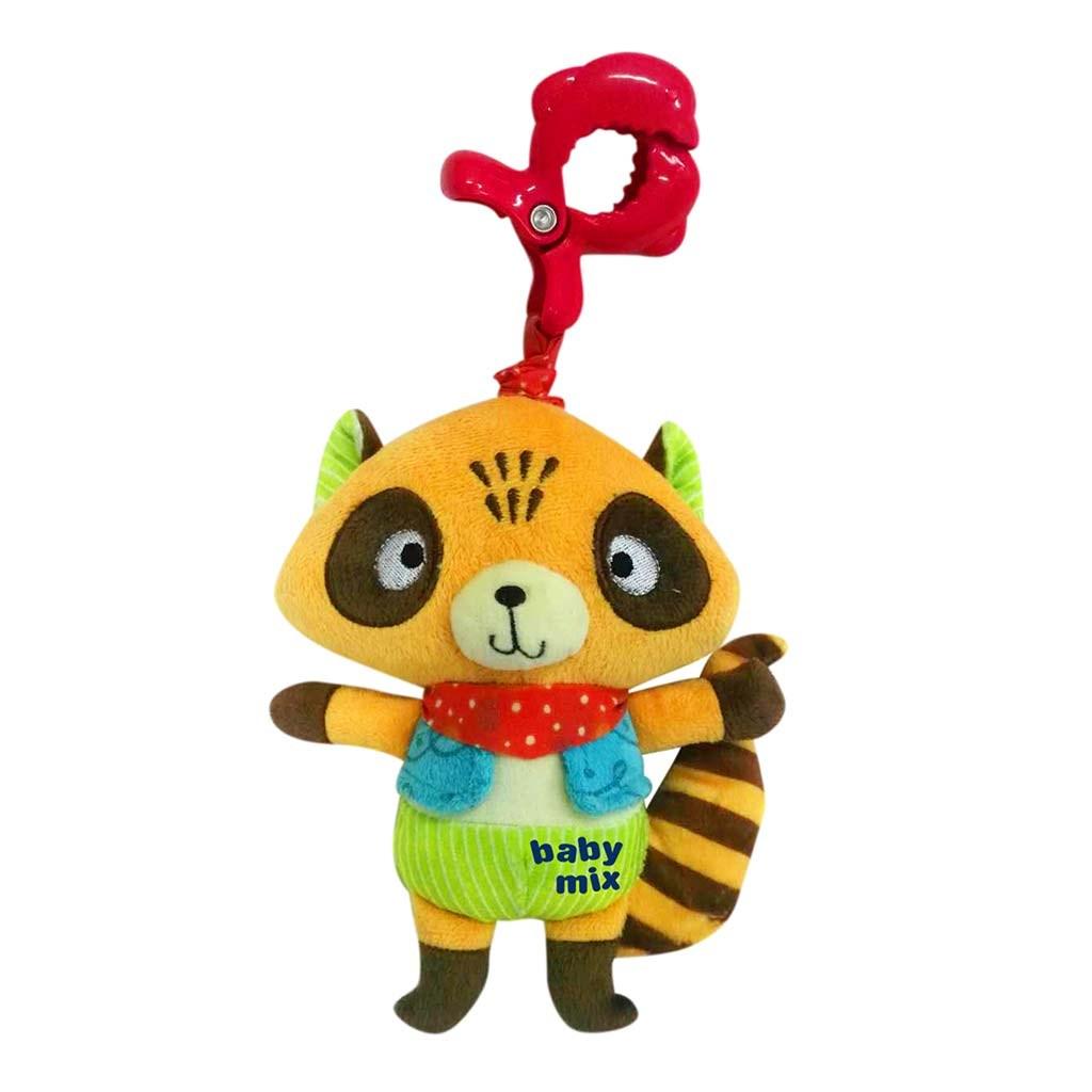 Dětská plyšová hračka s hracím strojkem Baby Mix Mýval