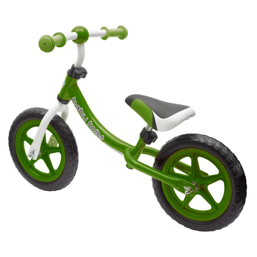 Dětské odrážedlo kolo Baby Mix TWIST zelené
