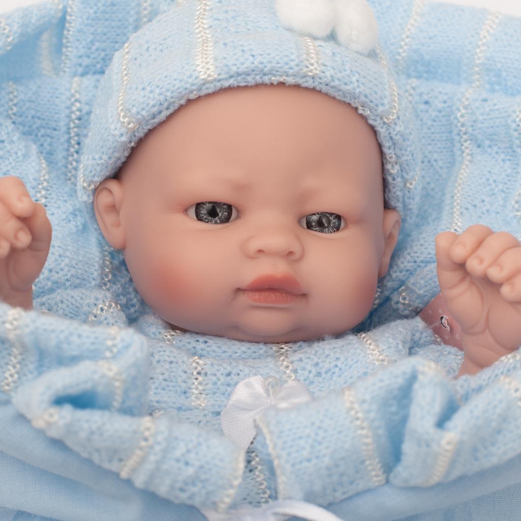 Luxusní dětská panenka-miminko Berbesa Sofie 28cm