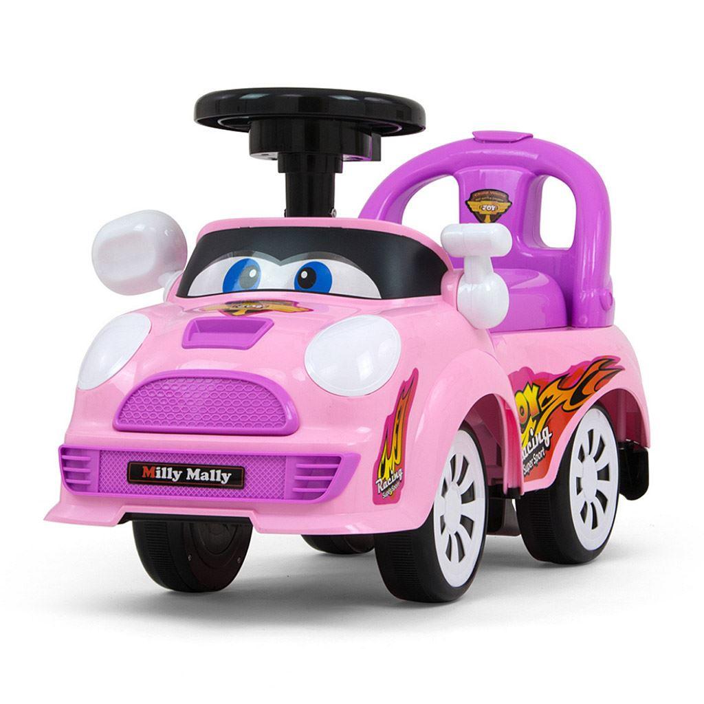 Dětské jezdítko se zvukem Milly Mally JOY pastel pink