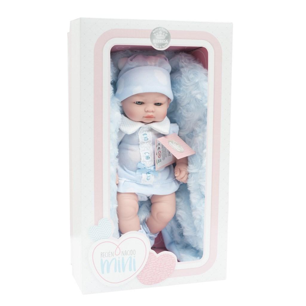 Luxusní dětská panenka-miminko Berbesa Barborka 28cm