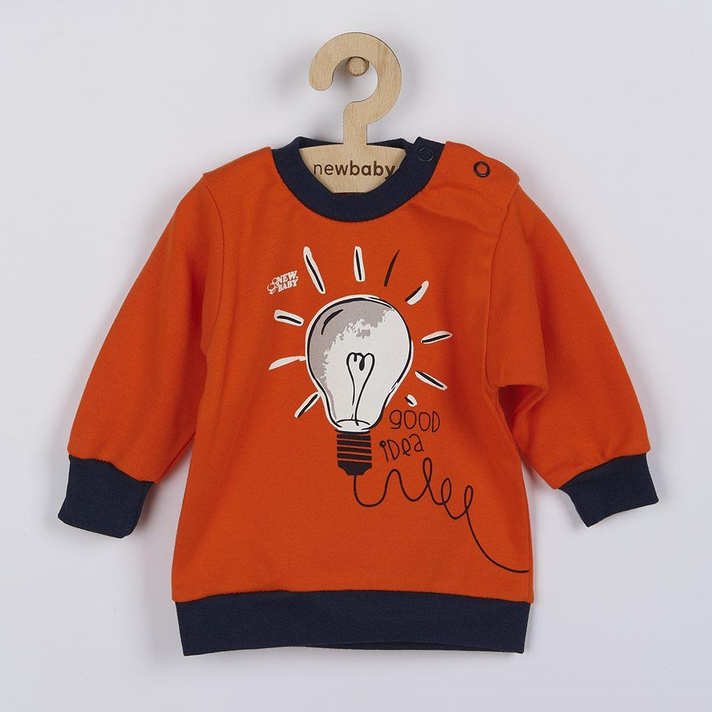 Kojenecké bavlněné tričko New Baby Happy Bulbs, 56 (0-3m)