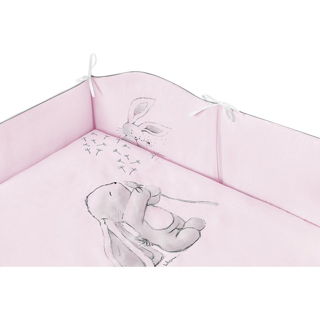3-dílné ložní povlečení Belisima ANDRE 90/120 růžové