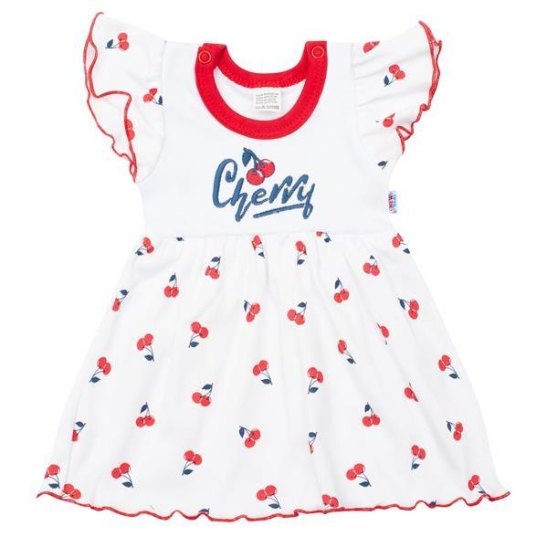 Kojenecké bavlněné šatičky New Baby Cherry