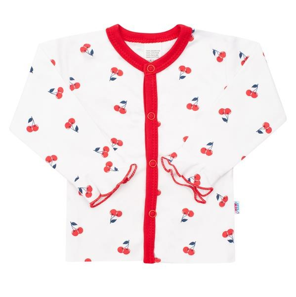 Kojenecký bavlněný kabátek New Baby Cherry