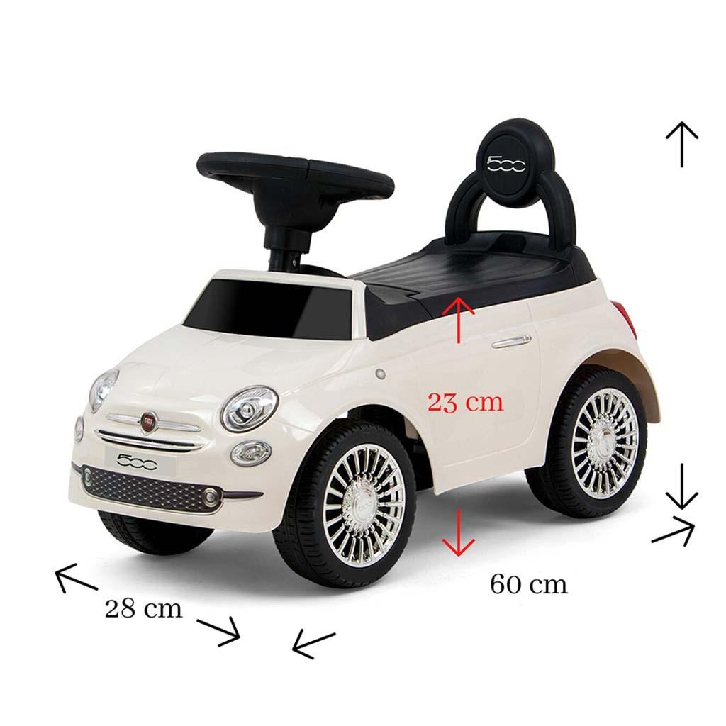 Dětské odrážedlo Milly Mally FIAT bílé