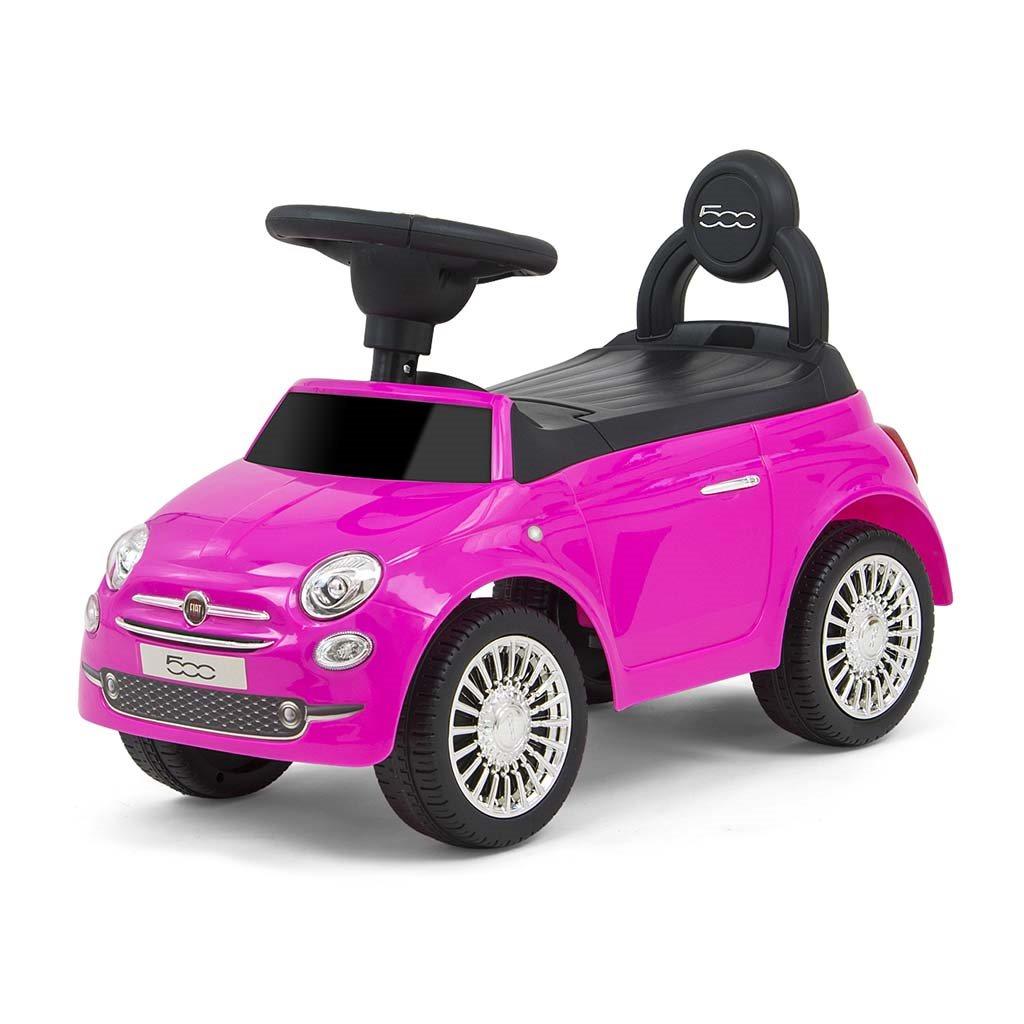 Dětské odrážedlo Milly Mally FIAT růžové