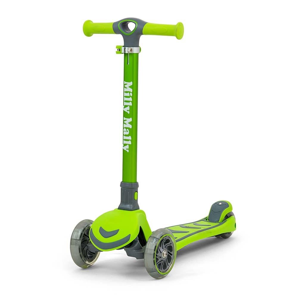 Dětská koloběžka Milly Mally Scooter Boogie zelená