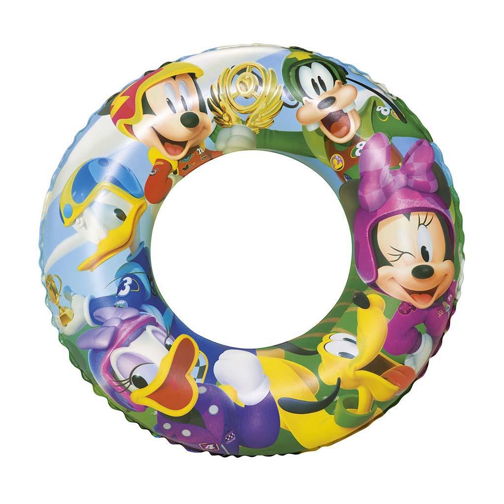 Dětský nafukovací kruh Bestway Mickey Mouse Roadster