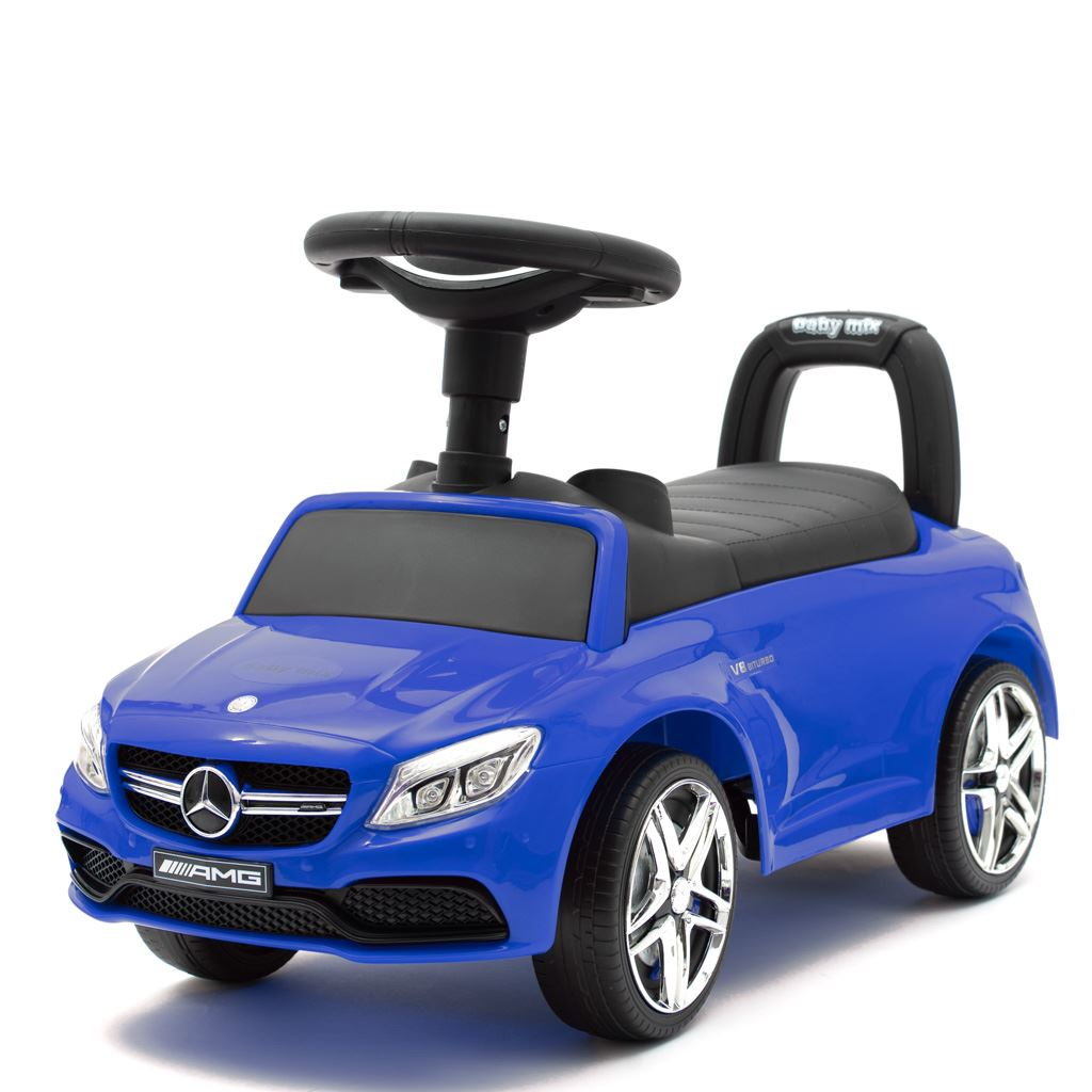 Odrážedlo Mercedes Benz AMG C63 Coupe Baby Mix modré