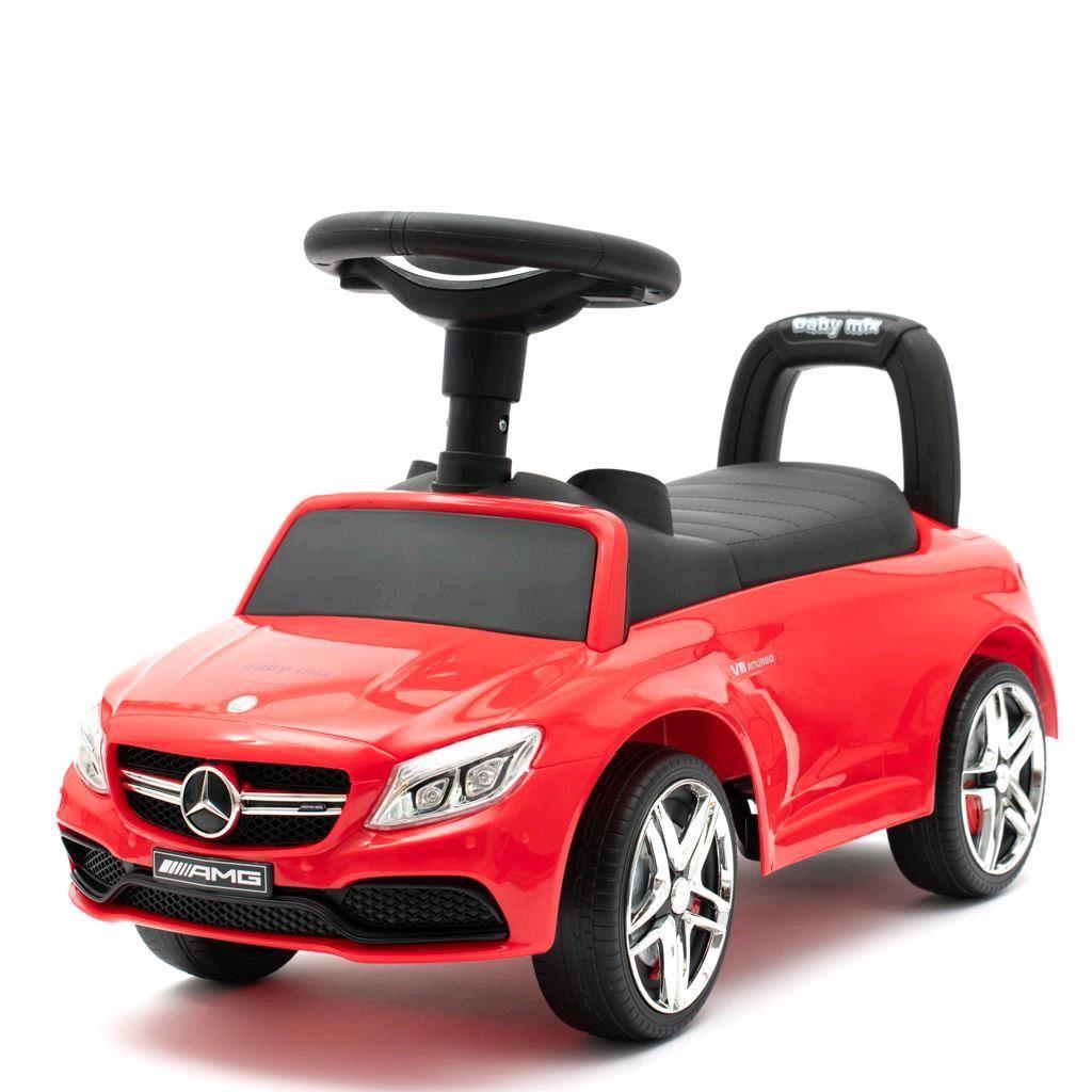 Odrážedlo Mercedes Benz AMG C63 Coupe Baby Mix červené