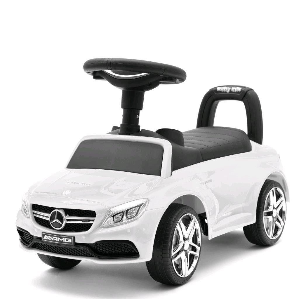 Odrážedlo Mercedes Benz AMG C63 Coupe Baby Mix bílé