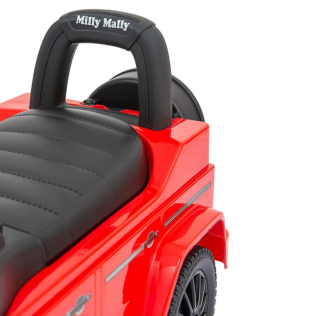 Odrážedlo MERCEDES G350d Milly Mally červené