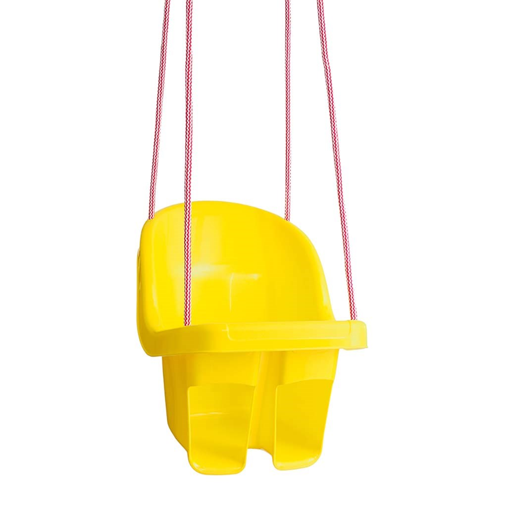Dětská závěsná houpačka Tega žlutá