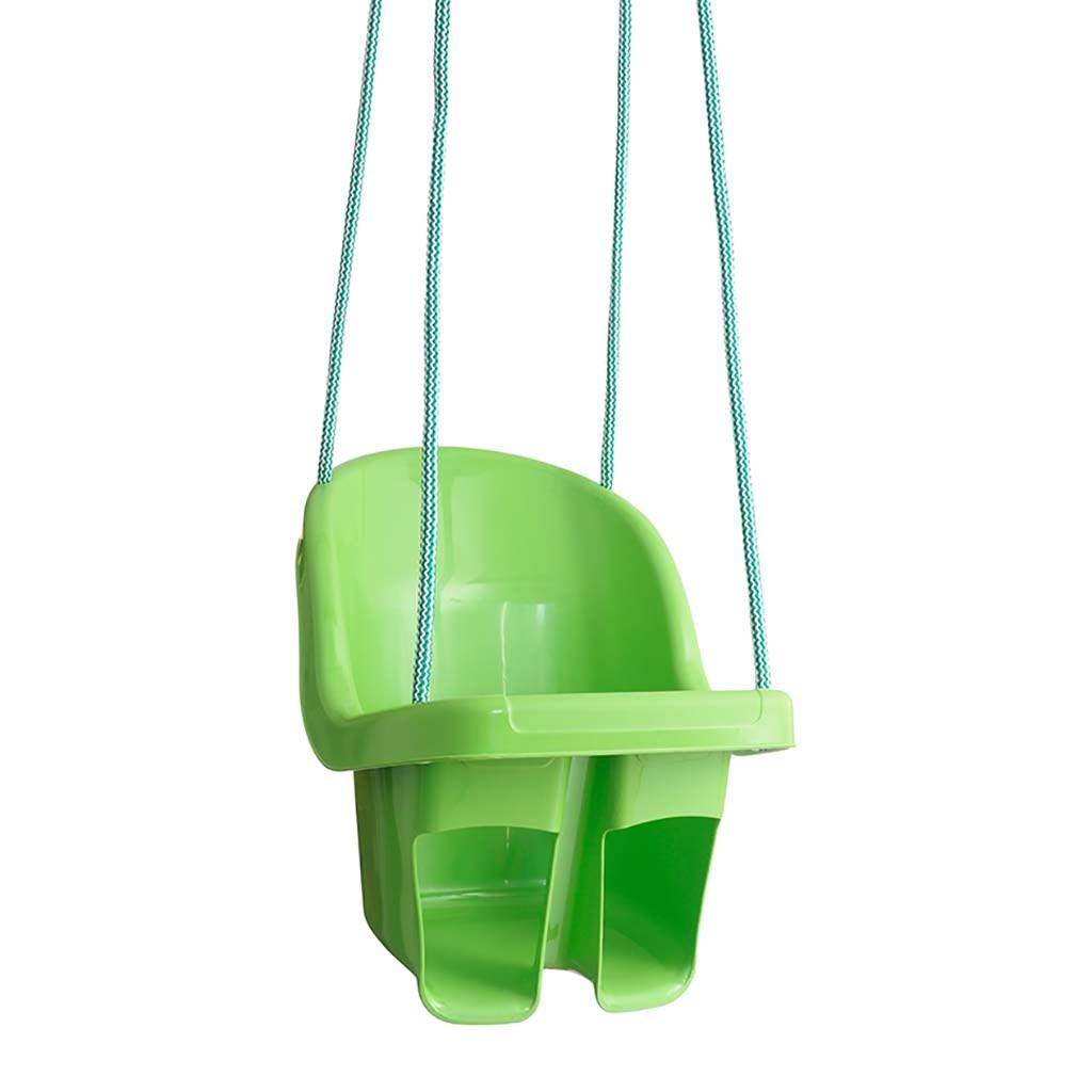 Dětská závěsná houpačka Tega zelená