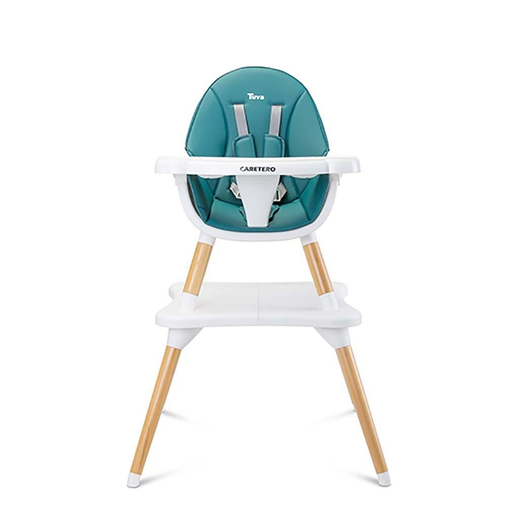 Jídelní židlička CARETERO TUVA dark green