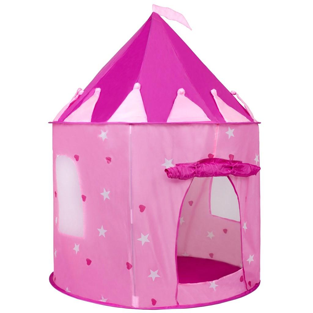 Dětský stan Hrad Baby Mix růžový