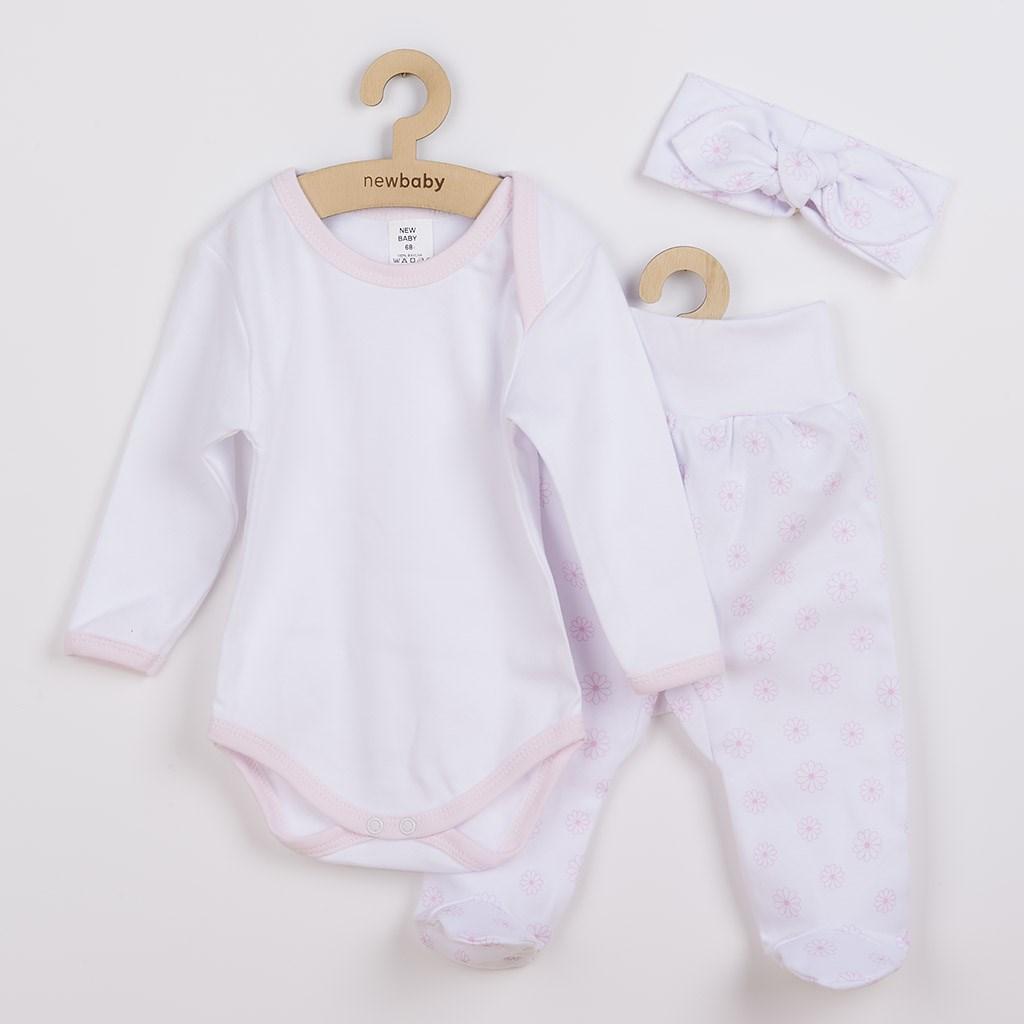 3-dílná bavlněná kojenecká souprava New Baby Lili