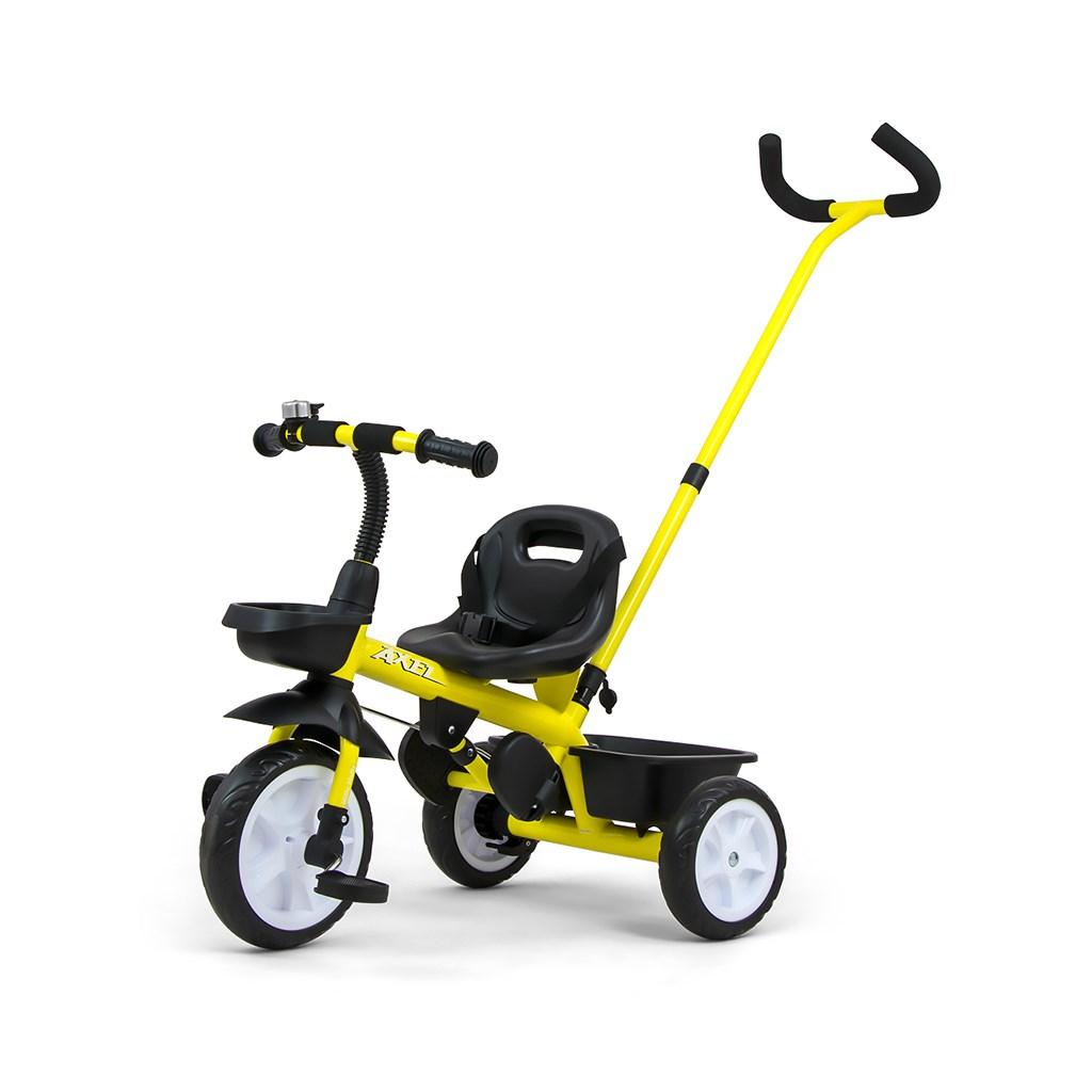 Dětská tříkolka Milly Mally Axel yellow POŠKOZENÝ OBAL