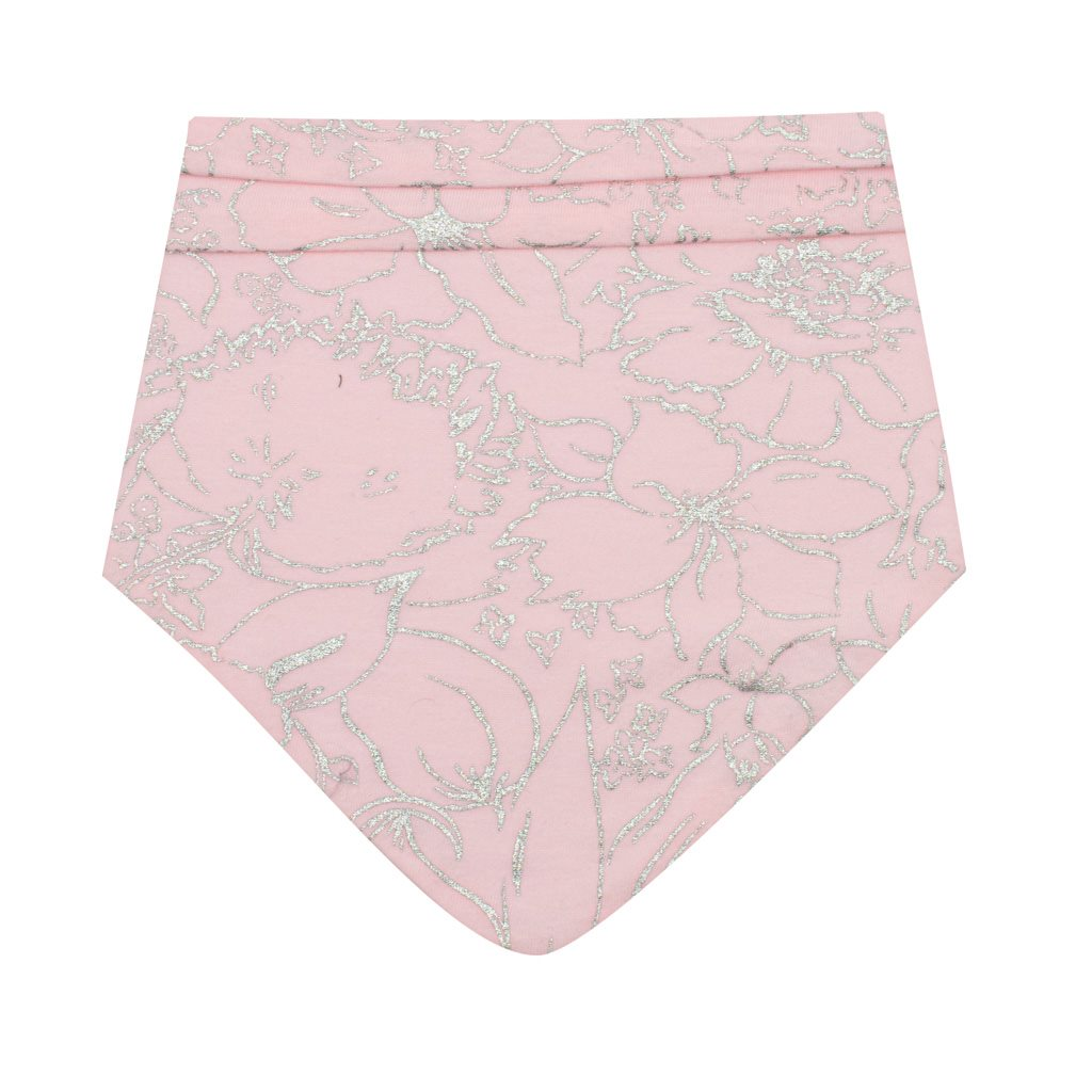 Kojenecký bavlněný šátek na krk New Baby NUNU růžový S, Velikost: S