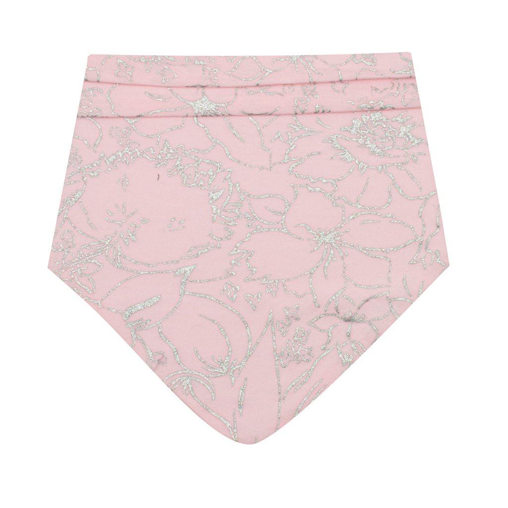 Kojenecký bavlněný šátek na krk New Baby NUNU růžový M, Velikost: M