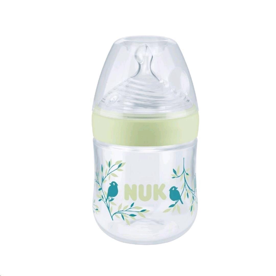 Kojenecká láhev NUK Nature Sense s kontrolou teploty 150 ml zelená