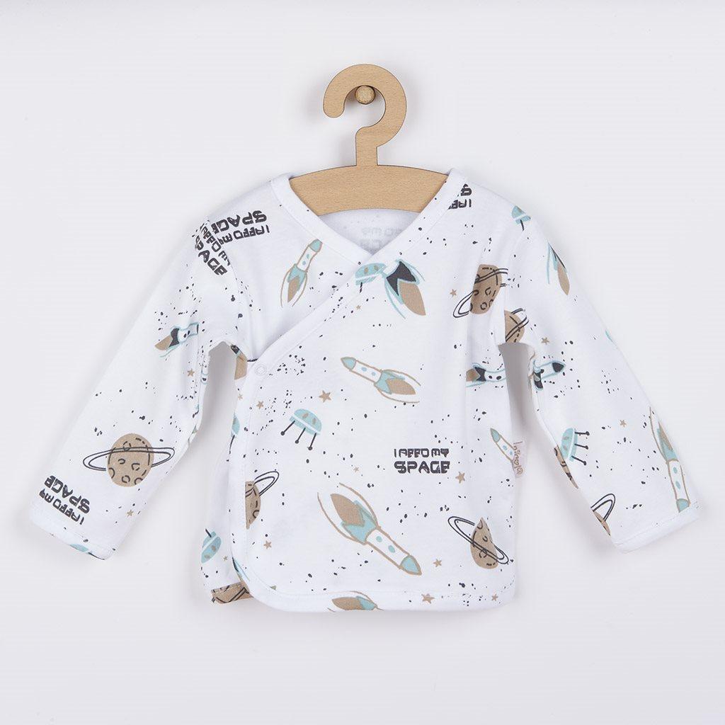 Kojenecká bavlněná košilka Nicol Star, Velikost: 56 (0-3m)