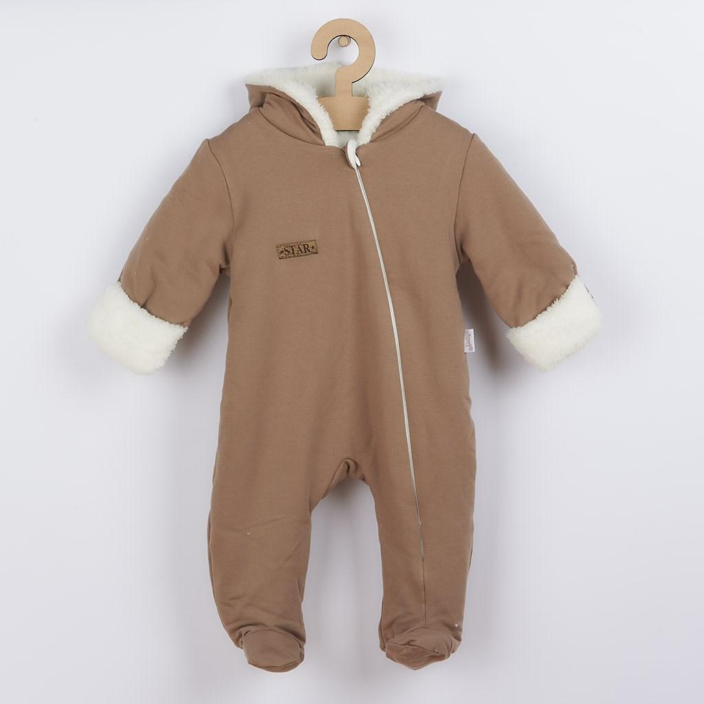 Zimní kojenecký overal Nicol Star, Velikost: 56 (0-3m)