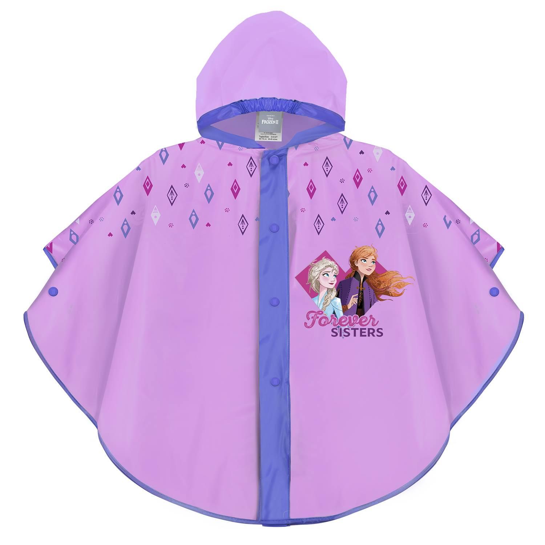 Dívčí pláštěnka pončo Perletti Frozen