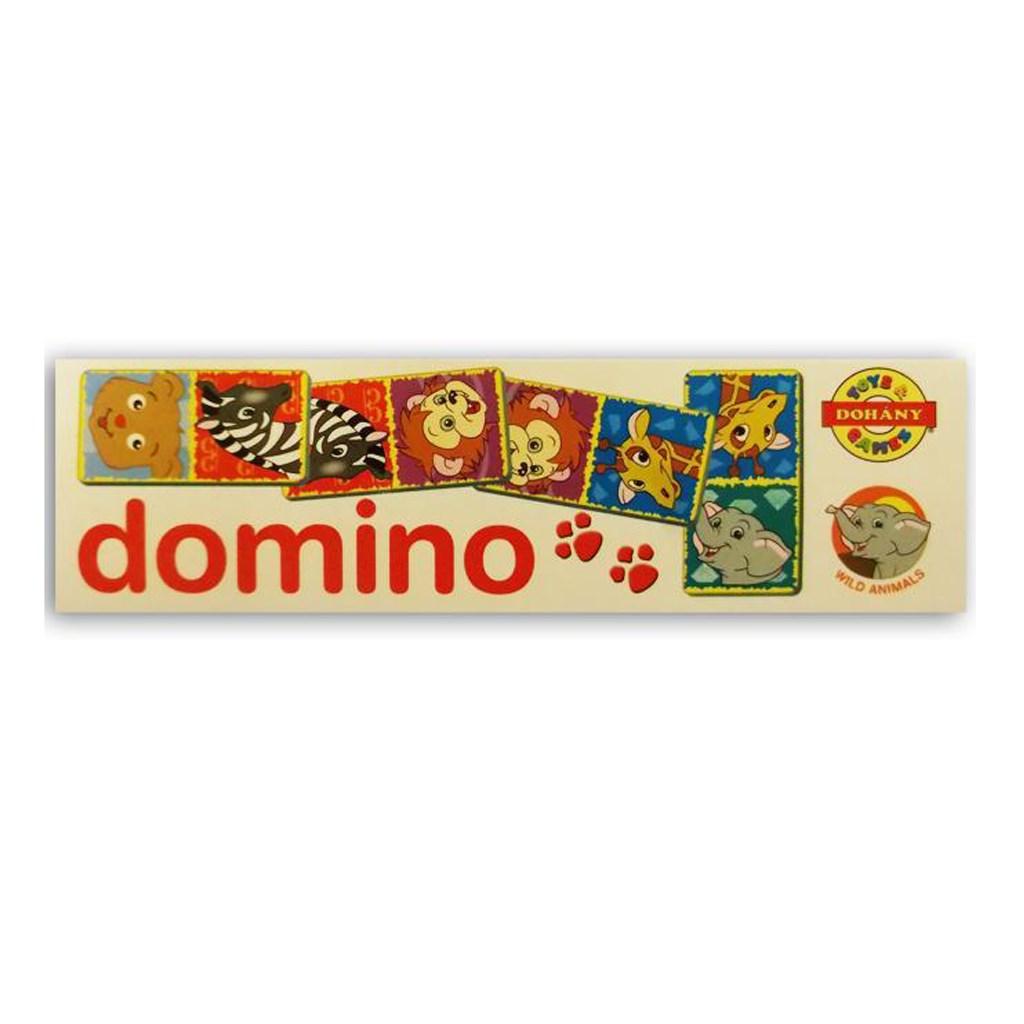 Dětské domino Zvířátka ze ZOO