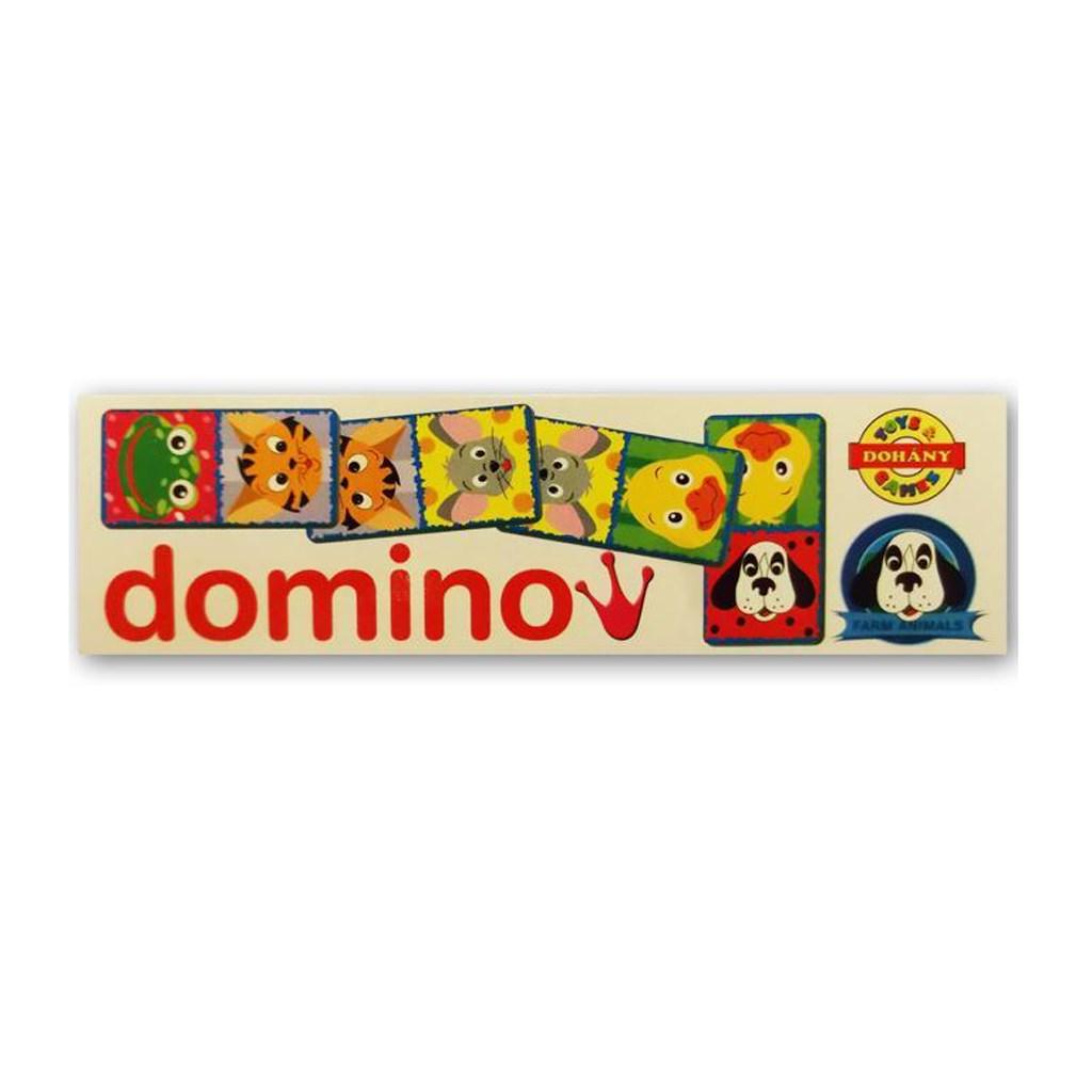 Dětské domino Domácí zvířátka