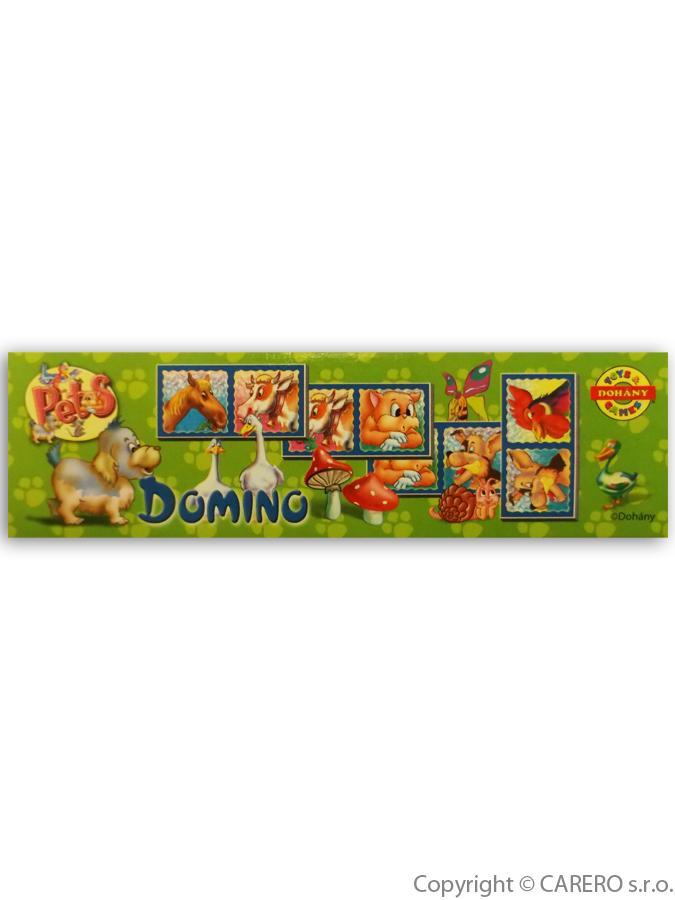 Dětské domino Malá zvířátka