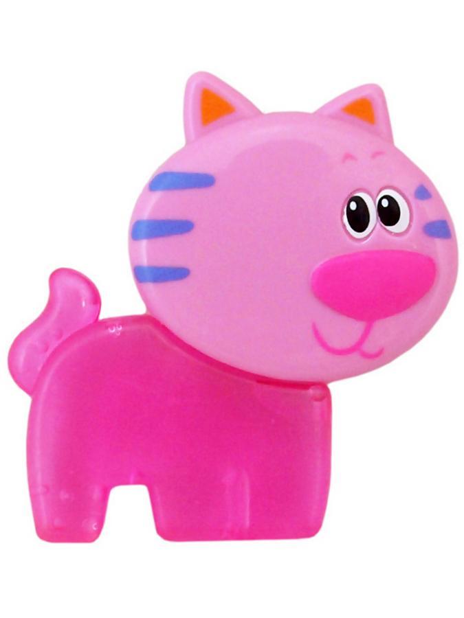 Chladící kousátko Baby Mix Kočíčka růžové