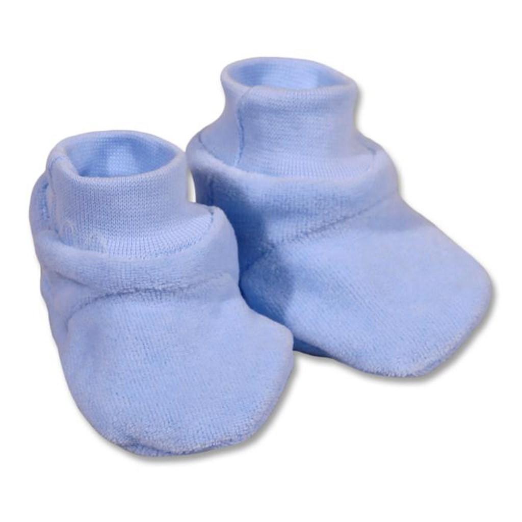 Dětské bačkůrky New Baby modré