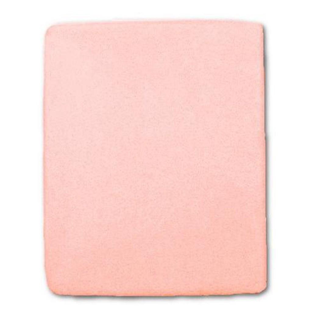 Nepromokavé prostěradlo New Baby 120x60 růžové