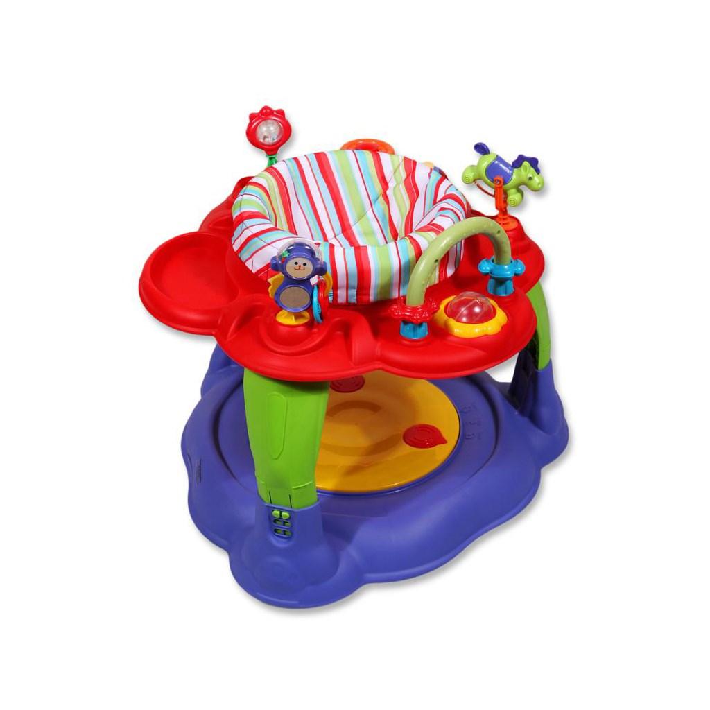 Multifunkční dětský stoleček Baby Mix červený