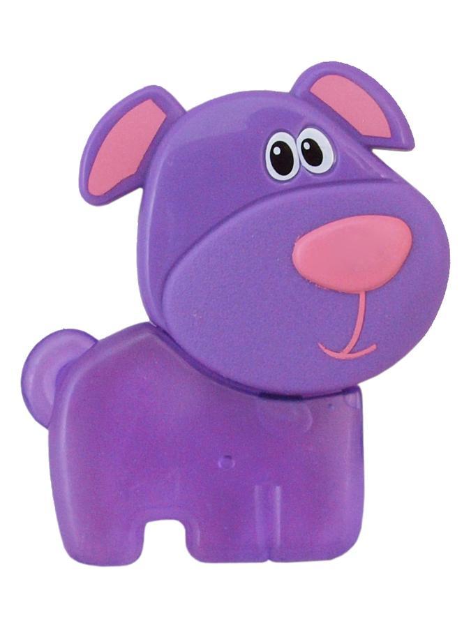 Chladící kousátko Baby Mix Pejsek fialové